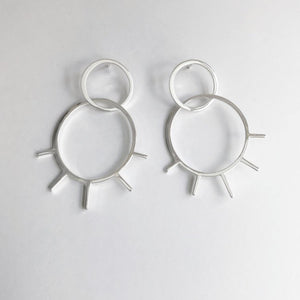 Dana Antonia - Handmade Sterling Silver View Earrings