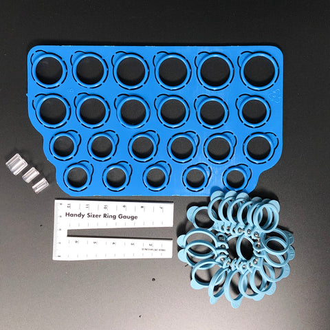 Ring/Finger Sizer & Plastic Ring Guards
