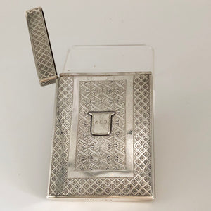British Hallmarked Sterling Card Case CM0002