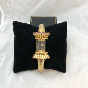 Jaeger-LeCoultre 18K Yellow Gold Art Deco Watch,  Purchased at Fred Leighton's, NYC   CB0032
