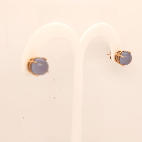 14K Yellow Gold Calceony Stud Earrings  CE0129