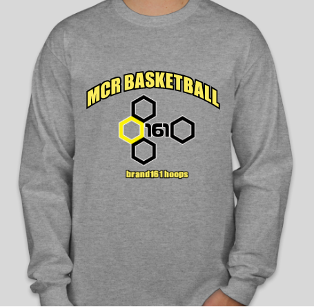 MCR Basketball Long-Sleeve Tee