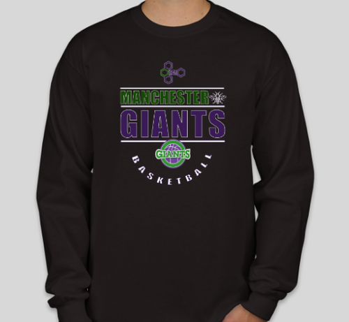 Manchester Giants Long-sleeve Tee Shirt
