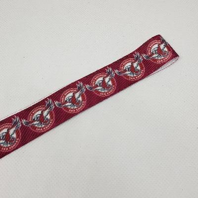 22mm (7/8) NRL Manly Sea Eagles Printed Grosgrain Ribbon by the meter