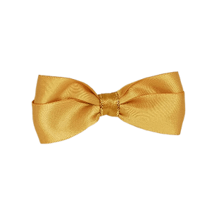 Cherish Hair Bow - Gold and Glitter
