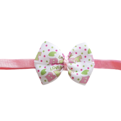 Baby and Toddler Soft Headband - Santa's Best Friend Christmas Hair Accessories Pinkberry Kisses