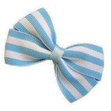 Cherish Hair bow for Children - Blue Stripes