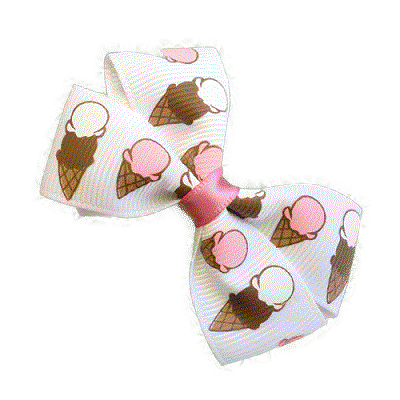 Cherish Hair bow for Children - Icecream