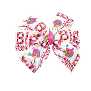 Chica Hair Bow Clip - Big Sister Birdie Hair Accessories pinkberry kisses