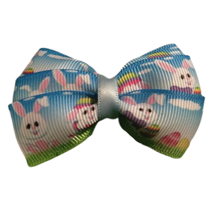 Hair accessories for girls - bella hair bow easter bunny Hair accessories for girls Hair Accessories for Babies Hair Bow for Babies Hair bow for Toddler Non Slip Hair Bow