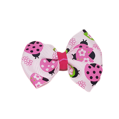 Hair accessories for girls - bella hair bow ladybirds Hair accessories for girls Hair accessories for baby - Pinkberry Kisses