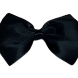 Hair accessories for girls - bella hair bow satin black Hair accessories for girls Hair accessories for baby - Pinkberry Kisses