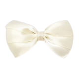 Hair accessories for girls - bella hair bow satin white Hair accessories for girls Hair accessories for baby - Pinkberry Kisses