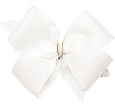Hair bows for adults timeless collection - white