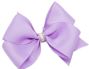 Timeless Hair Bow - Light Orchid - Pinkberry Kisses