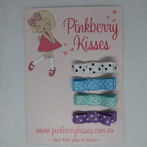 Deluxe Hair clips - Bright Spots