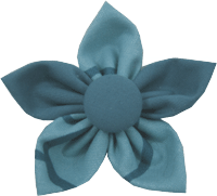 Kanzashi fabric flower - Izzy