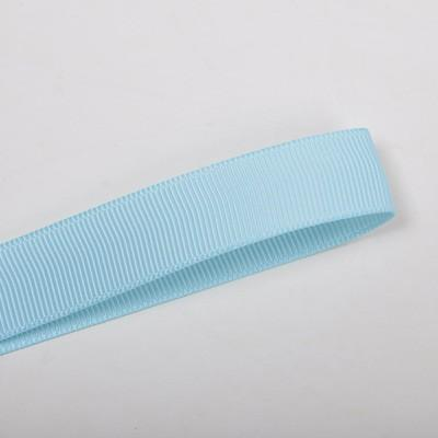 School Double Cherish Bow 9cm - Light Blue Base & Centre Ribbon (15 colours top) - Pinkberry Kisses