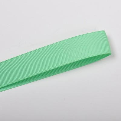 School Double Bella Bow 16.5cm - Light Green Base & Centre Ribbon (15 colours top) - Pinkberry Kisses