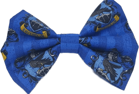 Rockabilly pin up fabric hair bow - harry potter ravenclaw