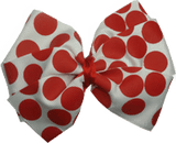Sweetheart Bow - Spots (8 Colour options) - Pinkberry Kisses