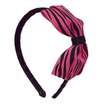 Woven Alice Headband - Wild Hot Pink