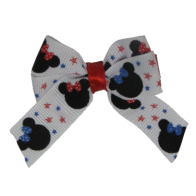 Amore Hair Bow - Minnie Mouse Pinkberry Kisses Hair Accessories