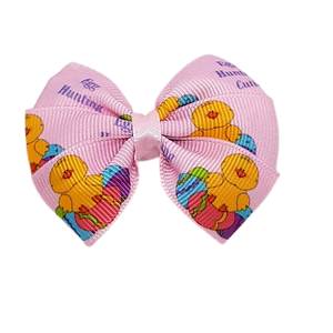 Bella Hair Bow - Easter hunting cutie