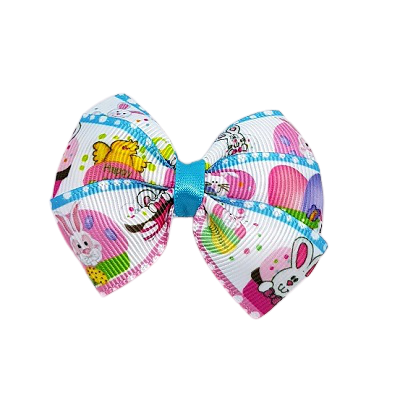 Easter Hair Bows Easter hat parade - Egg Hunt Hair accessories for girls Hair accessories for baby - Pinkberry Kisses