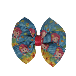 Bella Hair Bow - Mermaid in the Ocean Hair accessories for girls Hair accessories for baby - Pinkberry Kisses
