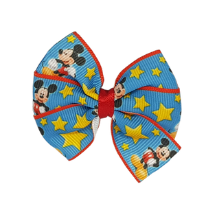 Bella Hair Bow - Mickey Mouse Hair accessories for girls Hair accessories for baby - Pinkberry Kisses