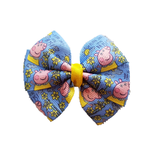 Bella Hair Bow - Peppa Pig Loves Spring Days Hair accessories for girls Hair accessories for baby - pinkberry Kisses