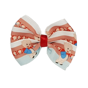 Bella Hair Bow - Porky Pig Hair accessories for girls Hair accessories for baby - Pinkberry Kisses