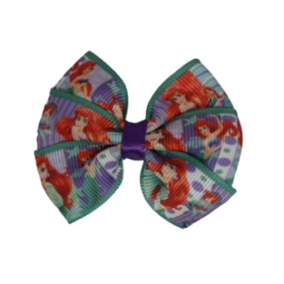 Bella Hair Bow - The Little Mermaid Hair accessories for girls Hair accessories for baby - Pinkberry Kisses