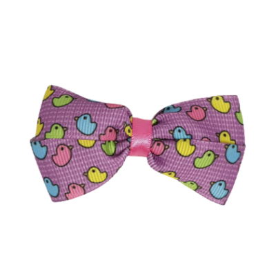 Cherish Hair Bow - Colourful Birds - Hair Accessories for Girl Baby Children Pinkberry Kisses