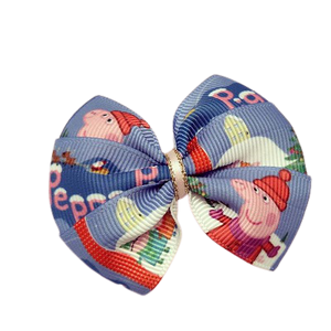 Christmas hair accessories - Bella Bow Peppa Pig Hair accessories for girls Hair accessories for baby - Pinkberry Kisses