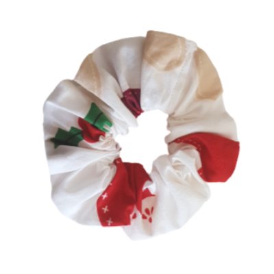 Christmas Hair Accessories - Christmas Scrunchie Pinkberry Kisses
