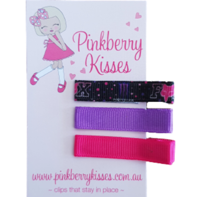 Everyday non slip hair clips - Fox Motor Sports - Ballet Love Baby Hair Accessories Toddler Hair Accessories Girl Hair Accessories Pinkberry Kisses
