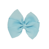 Bella Plain Colour School Uniform Hair Bow Hair Accessories 6cm PinkBerry Kisses - Light Blue