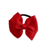 Bella Plain Colour School Uniform Hair Bow Hair Accessories 6cm PinkBerry Kisses - Red