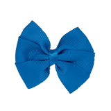 Bella Plain Colour School Uniform Hair Bow Hair Accessories 6cm PinkBerry Kisses - Methyl Blue