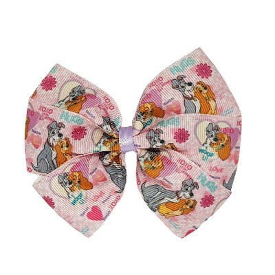Sweetheart Hair Bow - I Woof U Hair accessories for girls Hair accessories for baby - Pinkberry Kisses