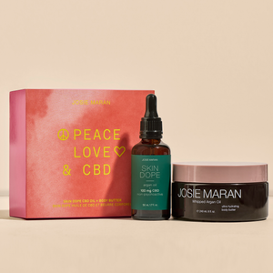 Peace Love + CBD Hydrating Set