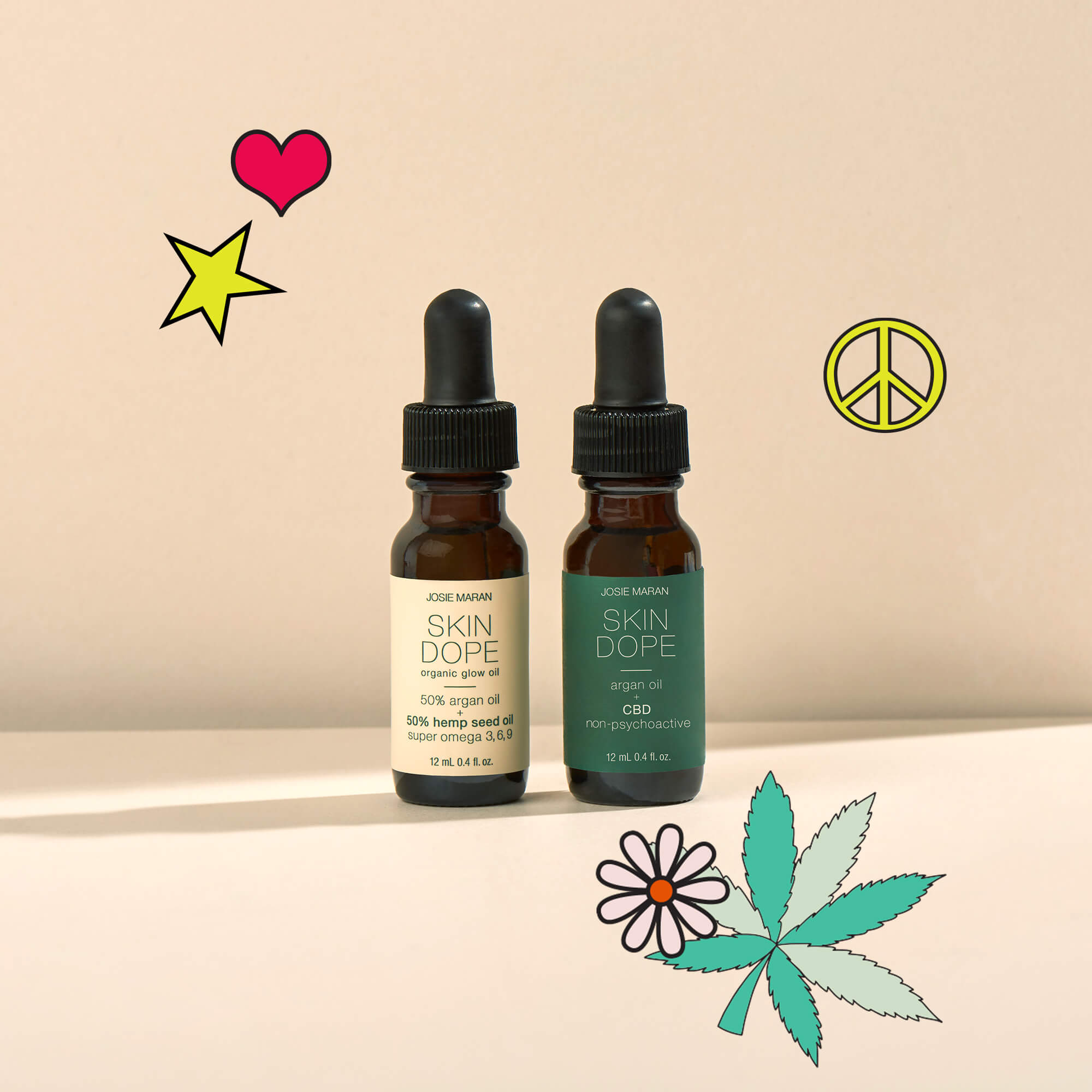 Flower Power Hemp + CBD Duo