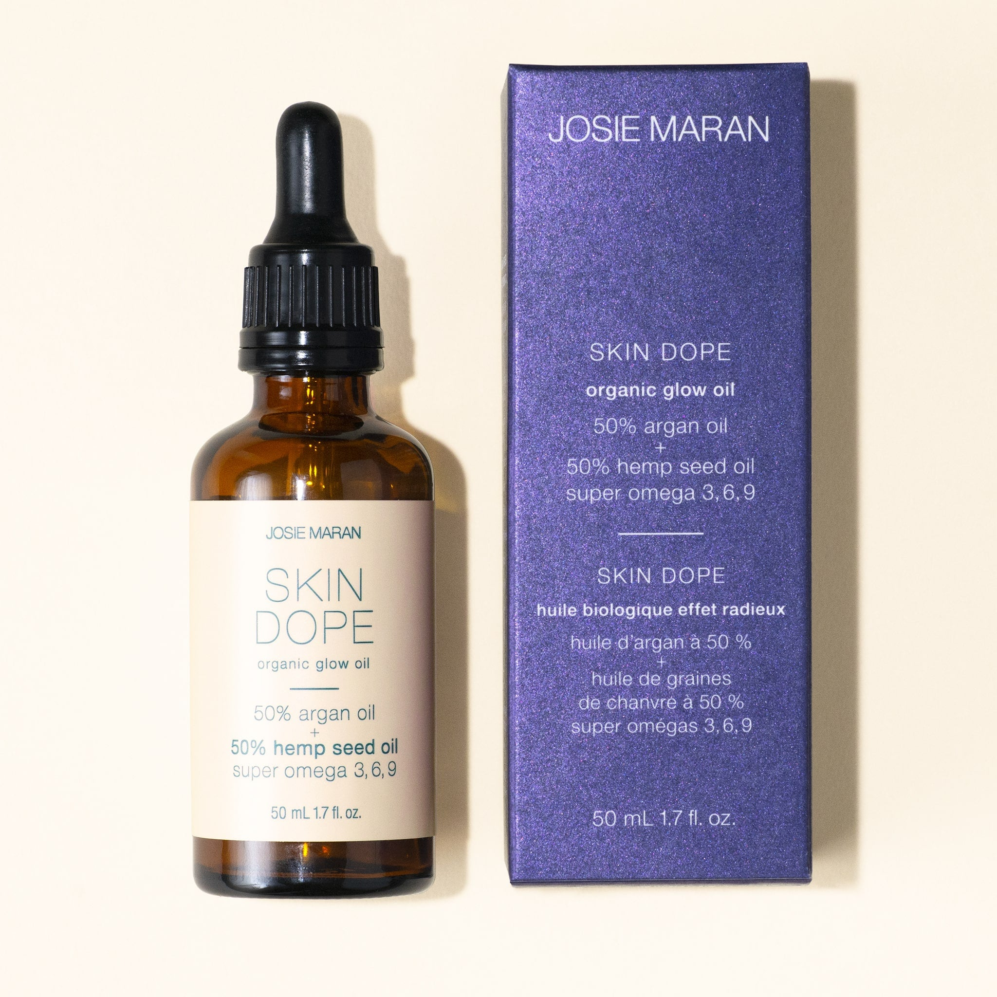 Argan Oil + Hemp Seed Oil