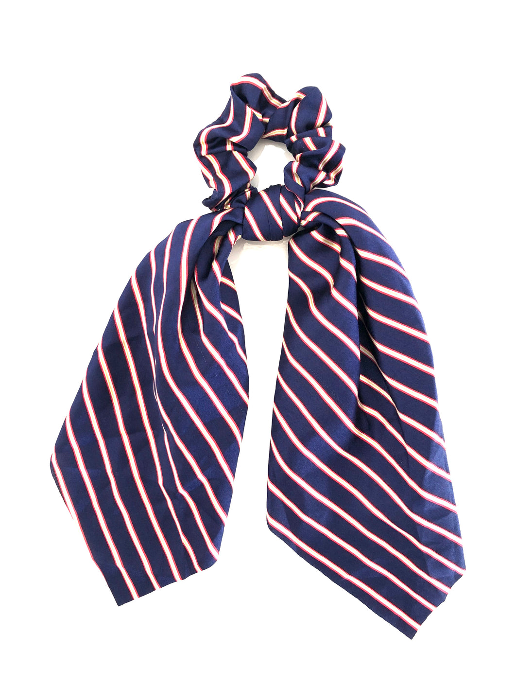 Scrunchie-Stripe in Blue