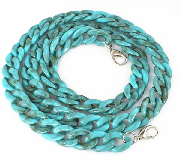 Chunky Chain in Turquoise