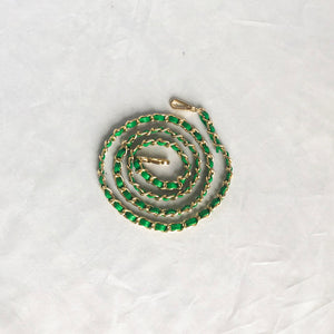 Chain Mail in Green