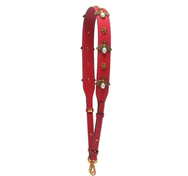 Bee Strap in Red