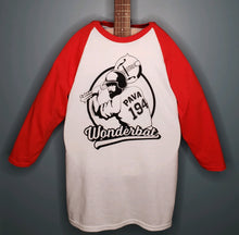 "Load image into Gallery viewer, Limited Edition ""Wonderbat"" Raglan T-shirt - Only 100 made!"